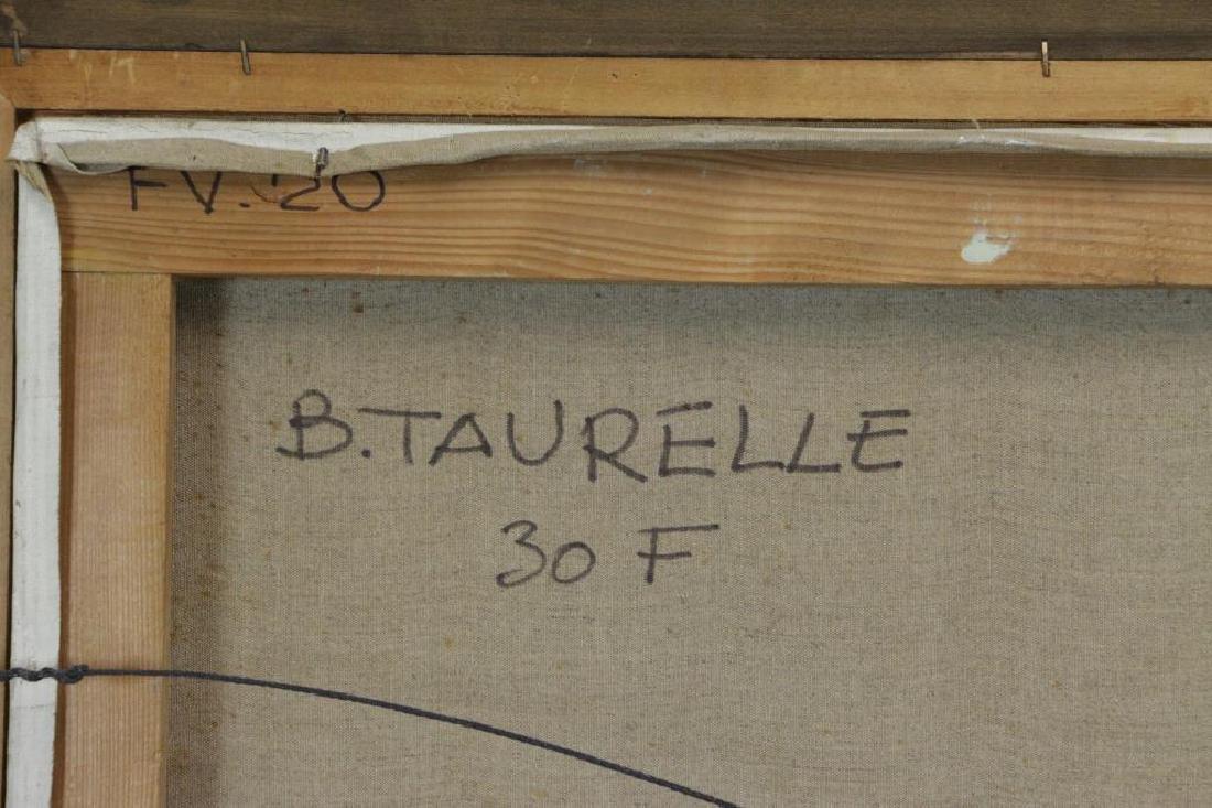 TAURELLE, Bernard. Oil on Canvas. Nude on the - 9