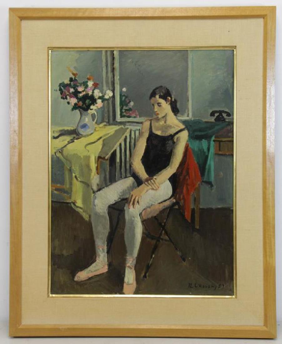 CIKOVSKY, Nicolai. Oil on Canvas. Dancer at Rest, - 2