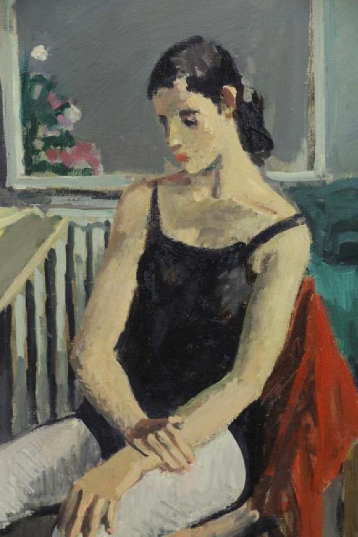 CIKOVSKY, Nicolai. Oil on Canvas. Dancer at Rest, - 3