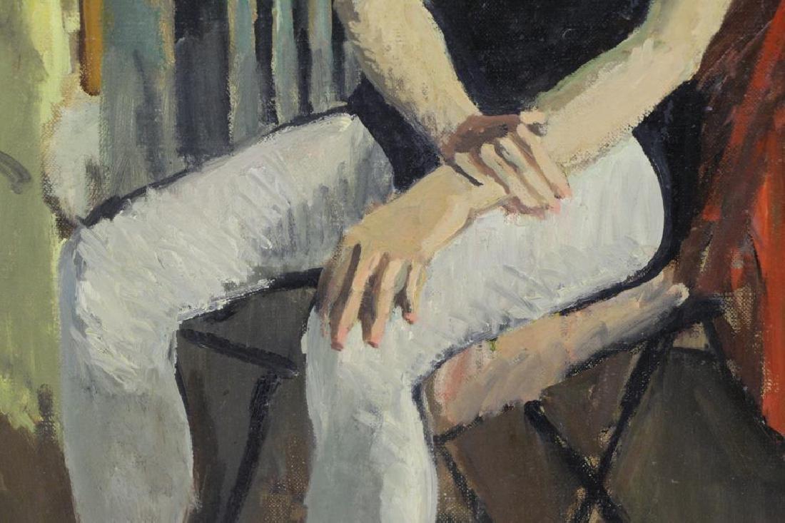 CIKOVSKY, Nicolai. Oil on Canvas. Dancer at Rest, - 5