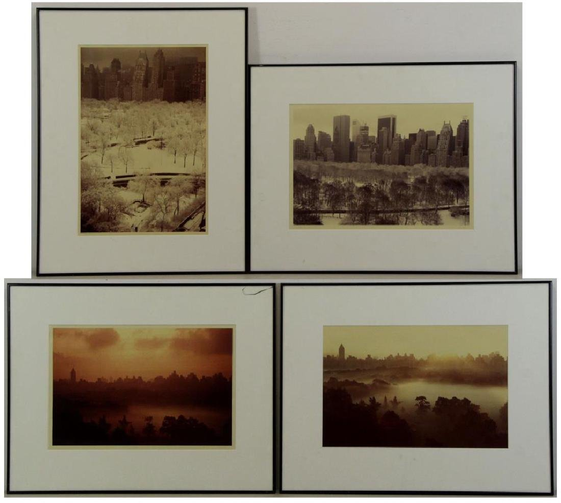 ORKIN, Ruth. Lot of Four New York Photographs.