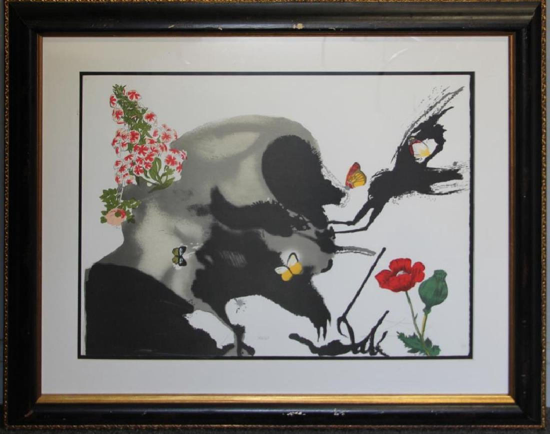 "DALI, Salvador (After). Lithograph. ""Spring"". - 2"