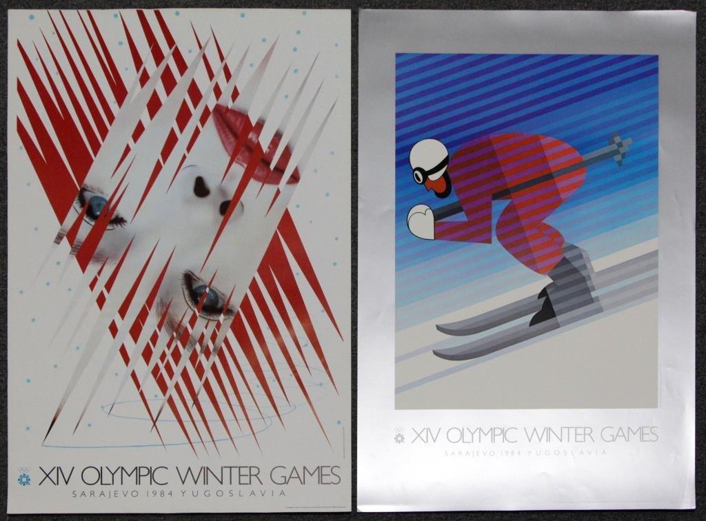 Lot of 22 Winter Olympics 1984: Sarajevo, - 6