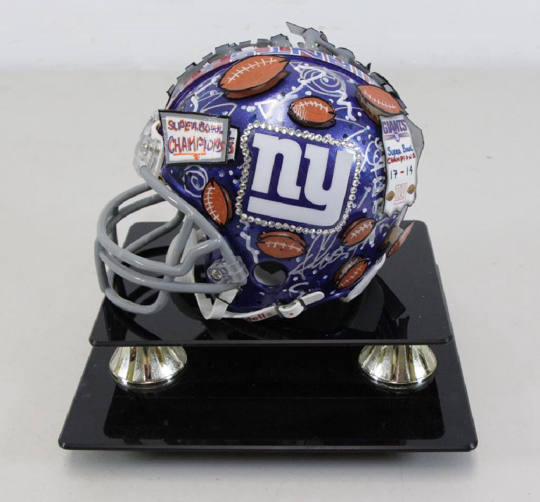 FAZZINO, Charles. Giants Super Bowl XLII Champions