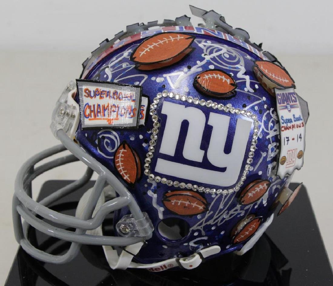FAZZINO, Charles. Giants Super Bowl XLII Champions - 5