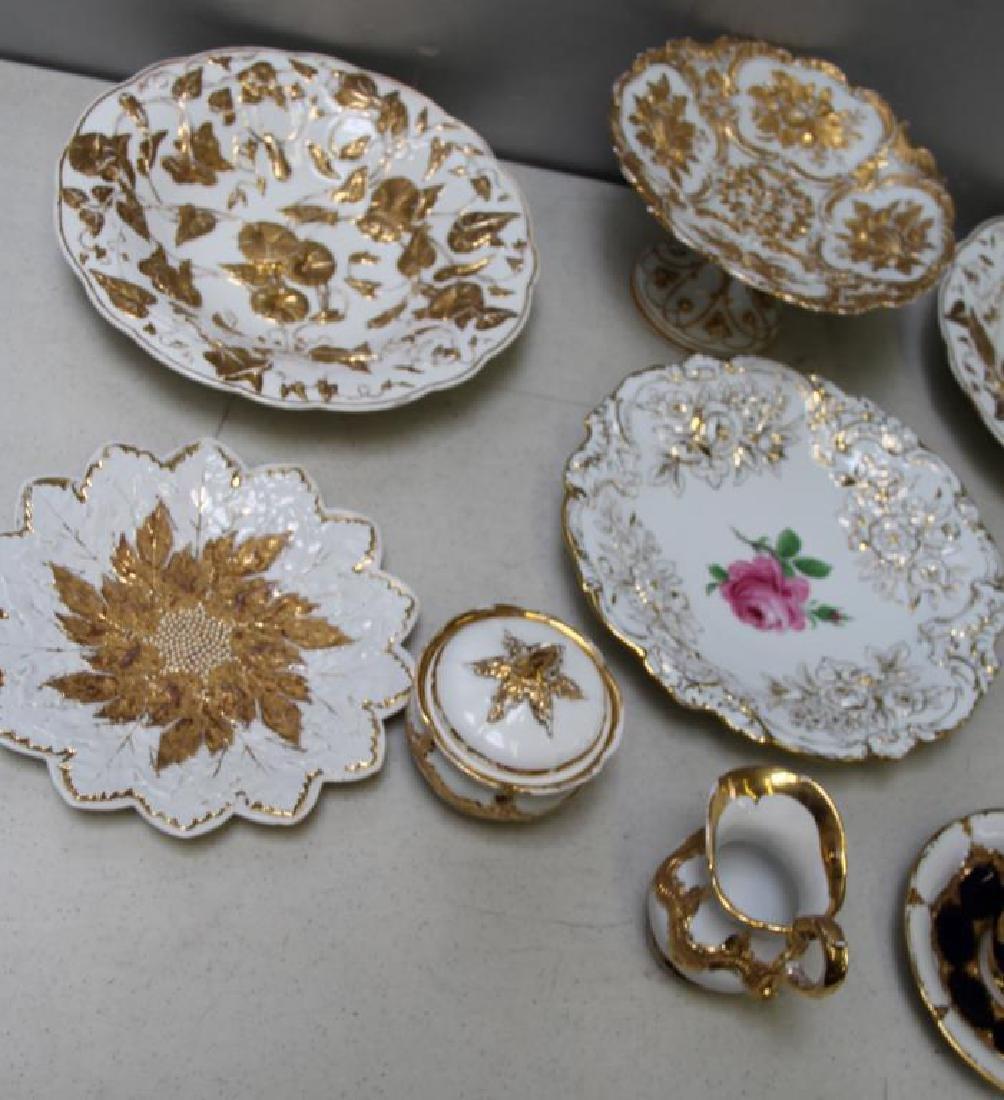 MEISSEN.11 Pieces of Meissen Porcelain To Inc, - 3