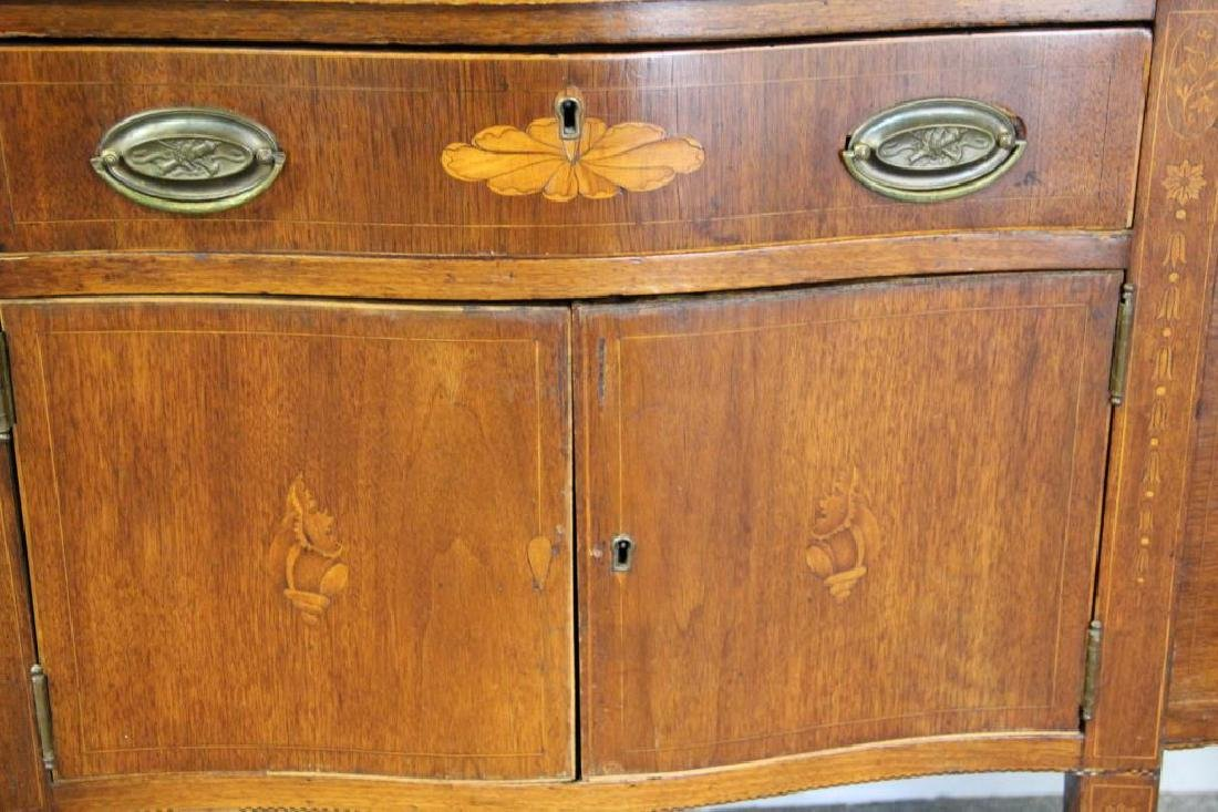 Antique Mahogany Sideboard. - 2