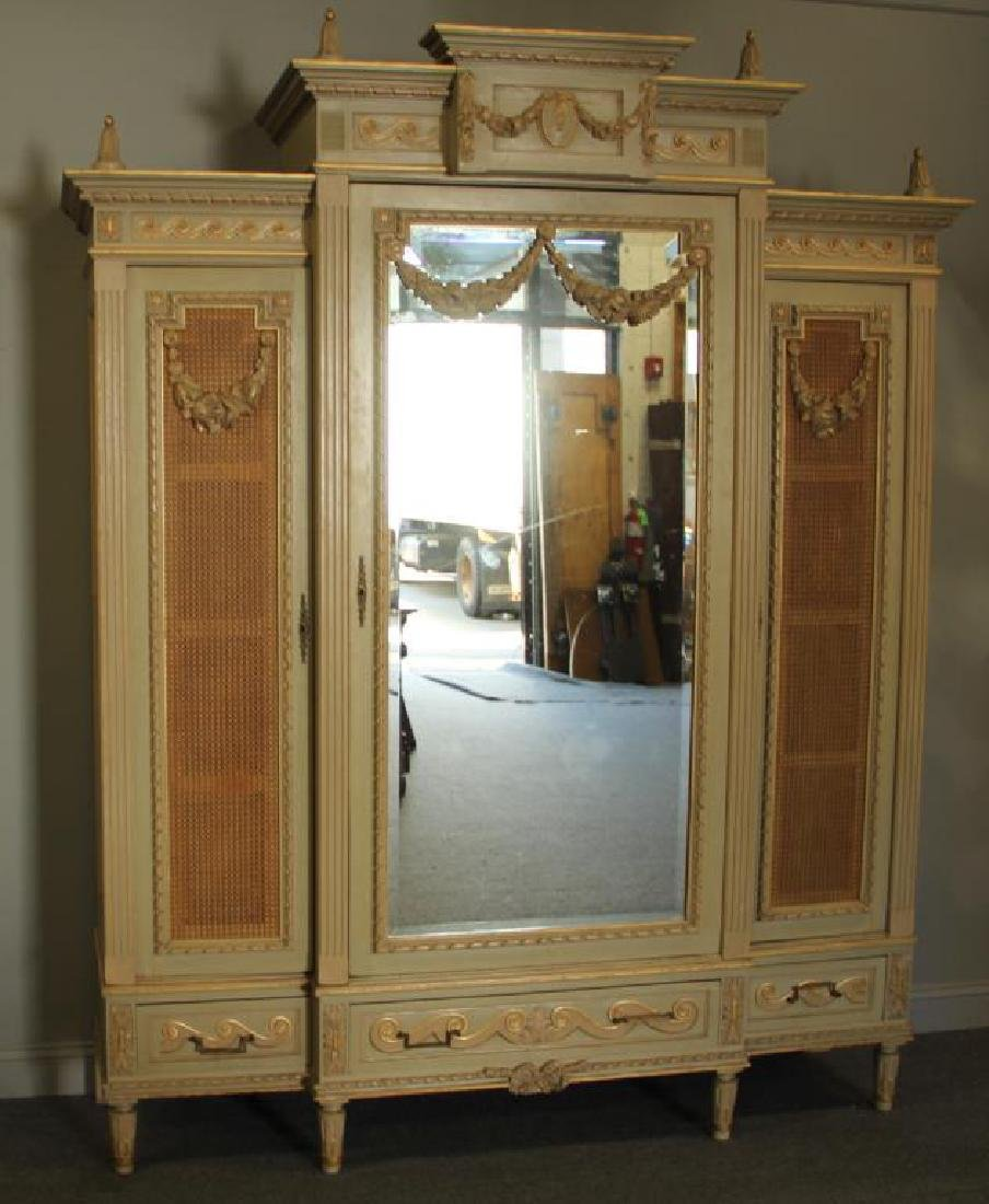 Fine Quality Custom Louis XVI Style Carved and