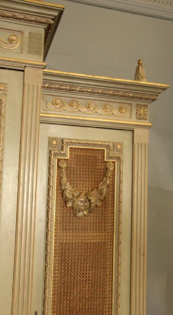 Fine Quality Custom Louis XVI Style Carved and - 4
