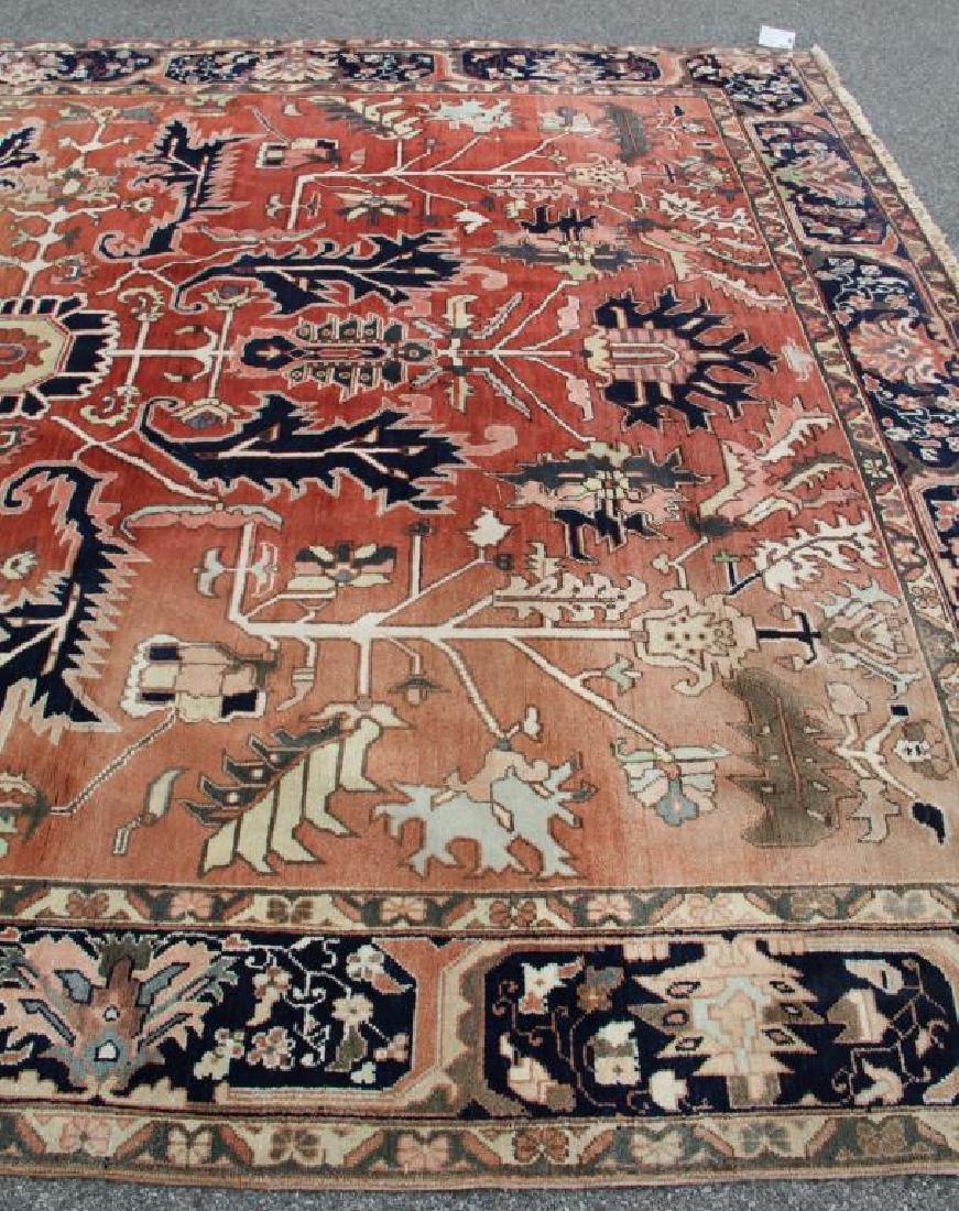 Vintage Heriz Finely Woven Roomsize Carpet. - 3