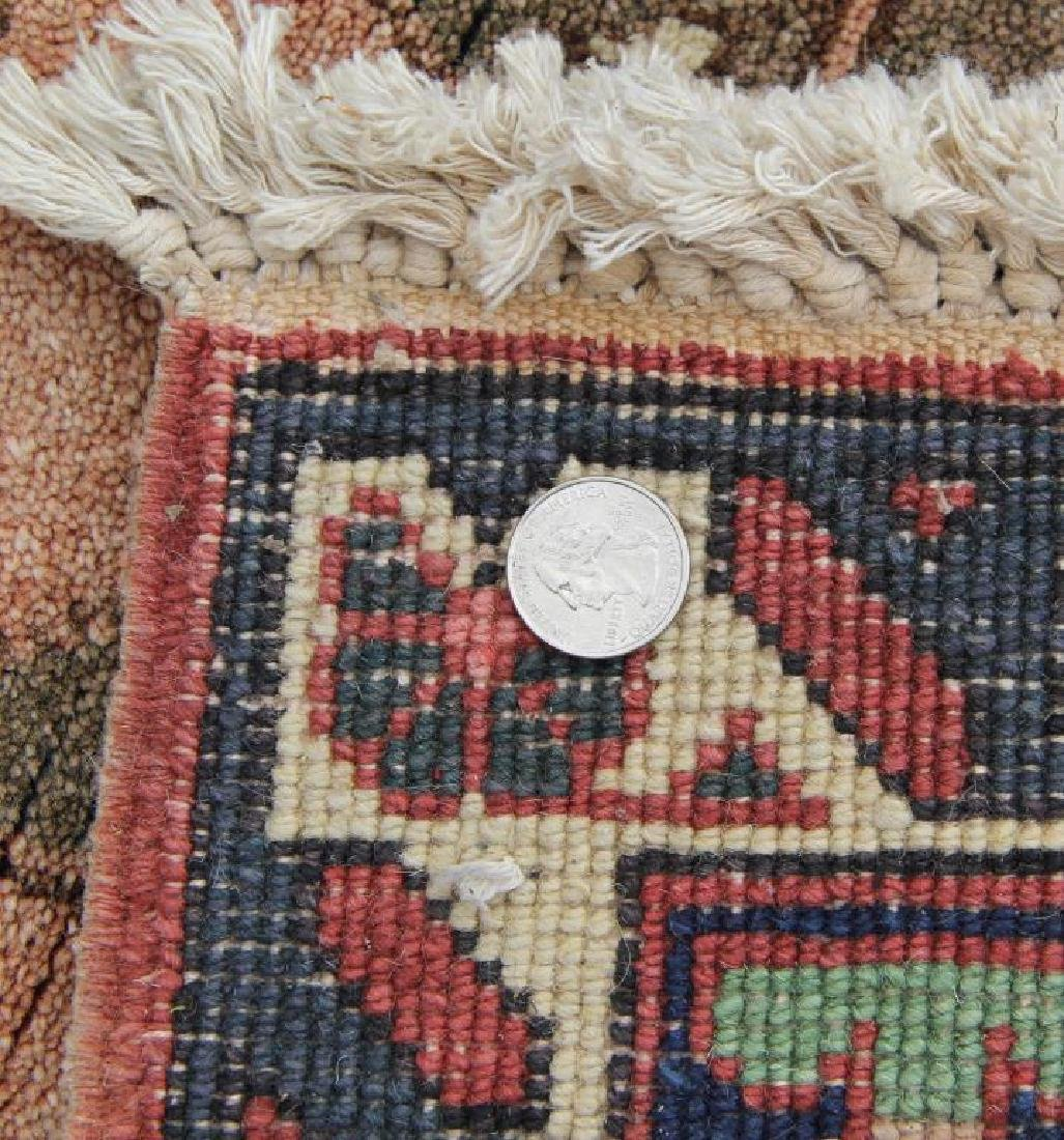 Vintage Heriz Finely Woven Roomsize Carpet. - 4