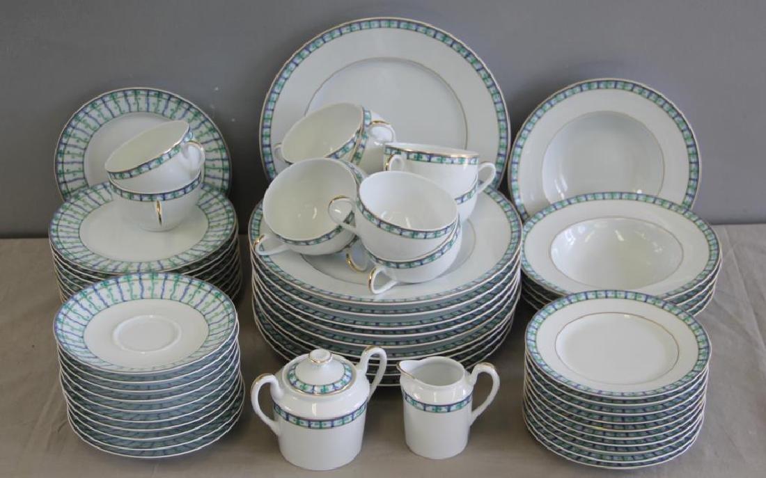 Limoges Porcelain Partial Service To Inc,