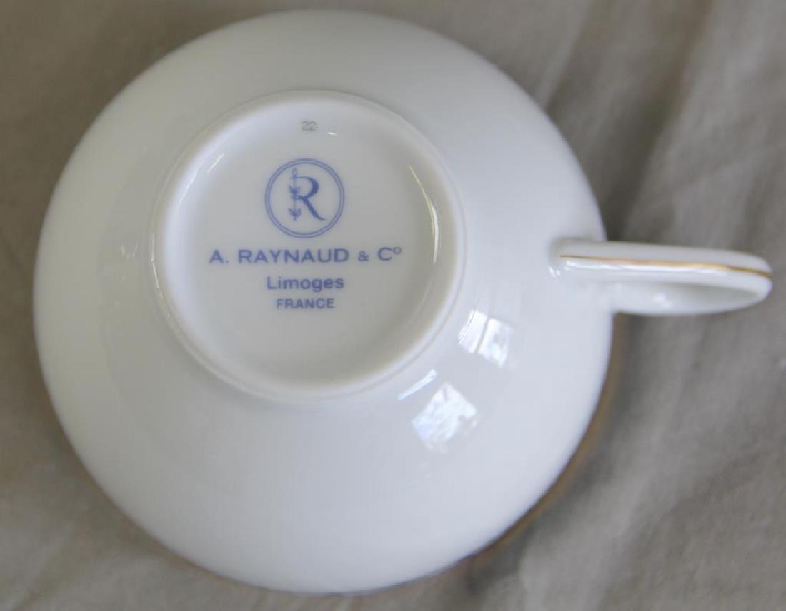 Limoges Porcelain Partial Service To Inc, - 2