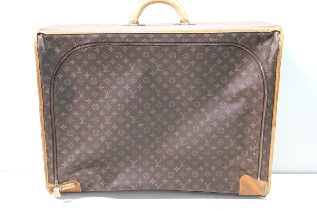 2 Vintage Louis Vuitton Soft Suitcases. - 2