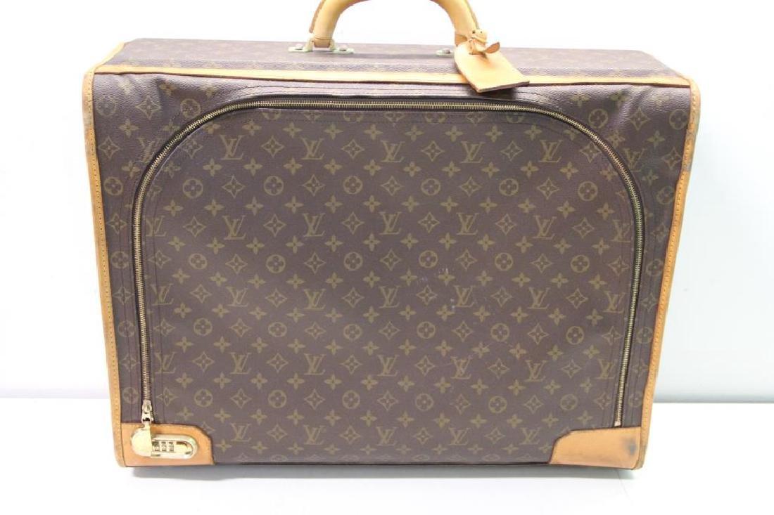 2 Vintage Louis Vuitton Soft Suitcases. - 6