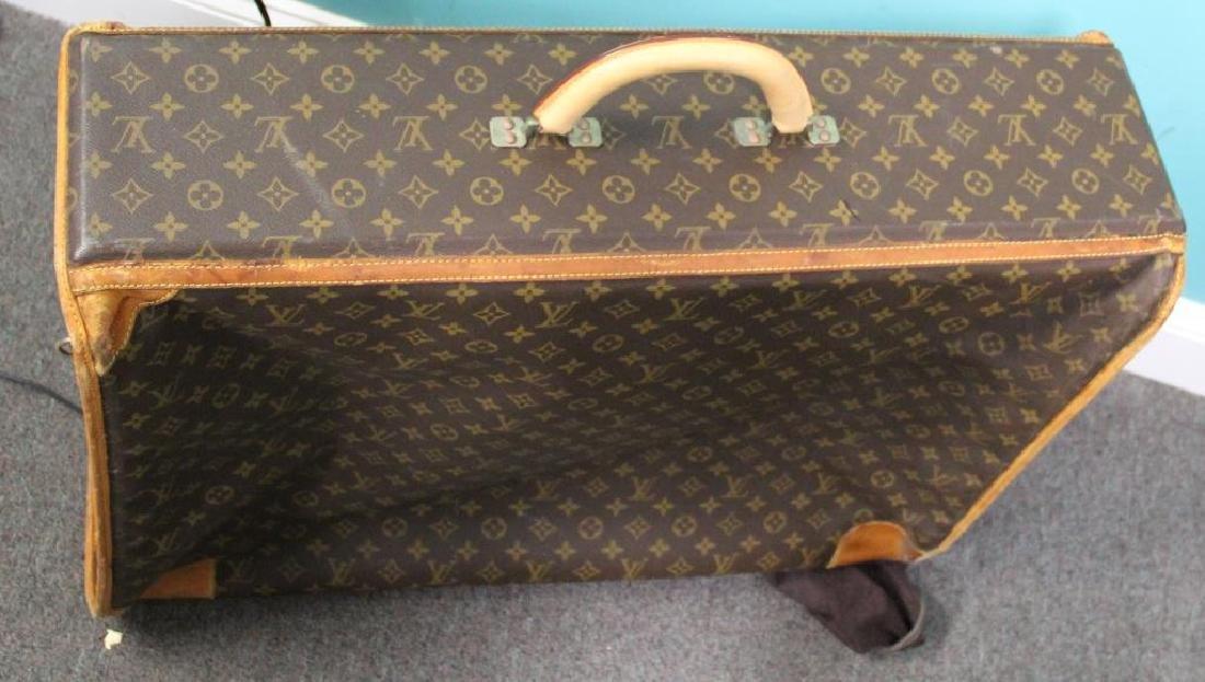 2 Vintage Louis Vuitton Soft Suitcases. - 9