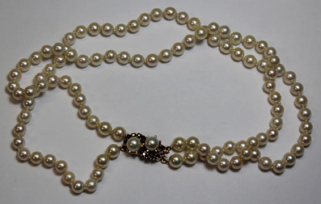 JEWELRY. Assorted Grouping of Pearls and Cameos. - 10