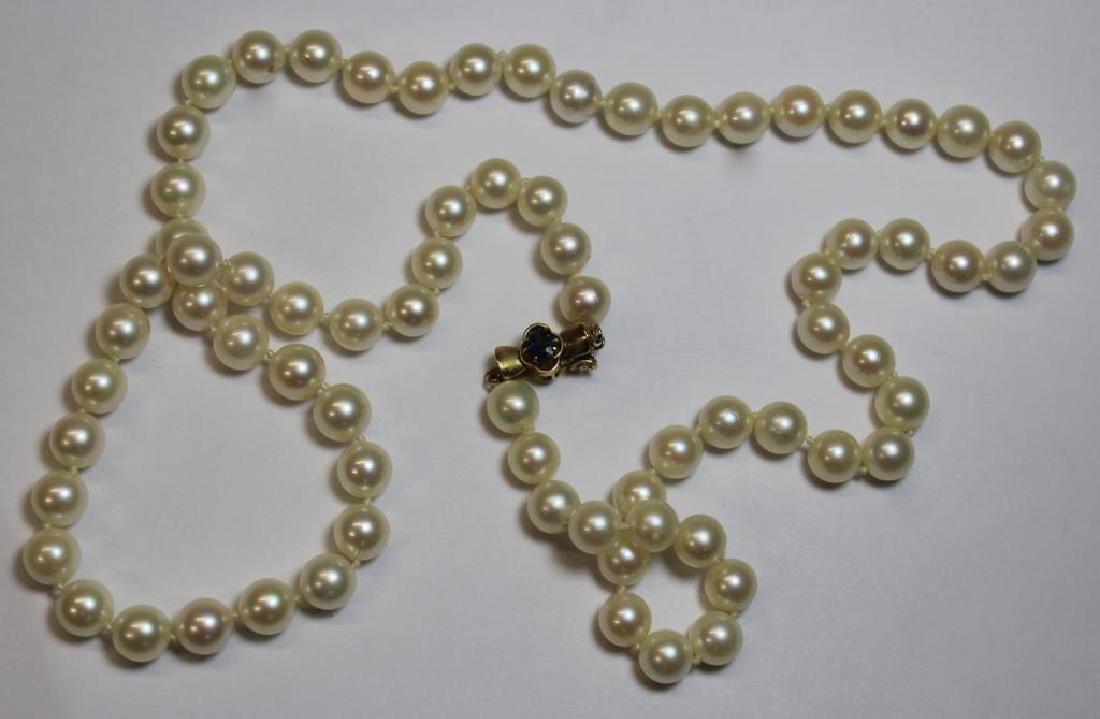 JEWELRY. Assorted Grouping of Pearls and Cameos. - 7