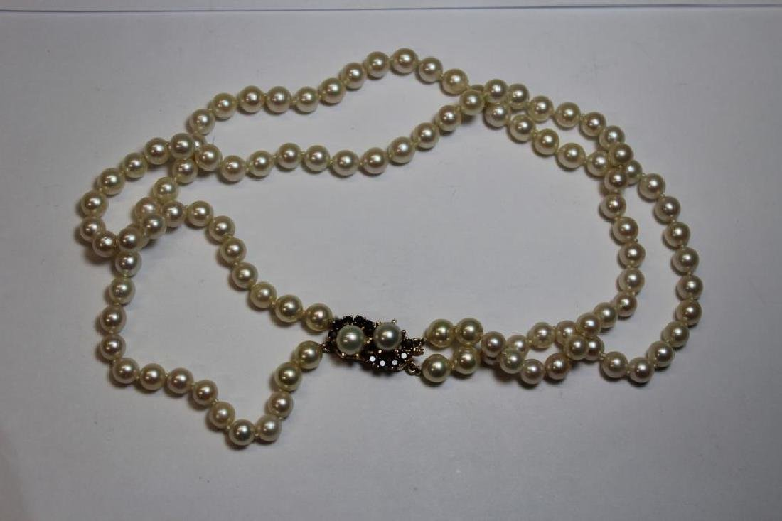 JEWELRY. Assorted Grouping of Pearls and Cameos. - 9