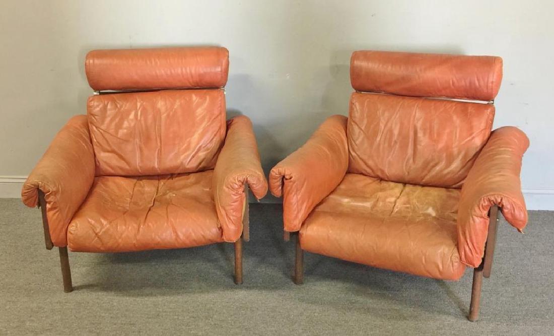 Midcentury Yrjo Kukkapuro; Haimi Pair of Chairs.