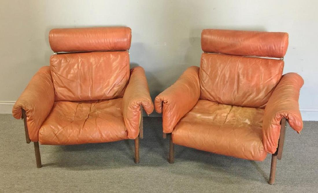 Midcentury Yrjo Kukkapuro; Haimi Pair of Chairs.