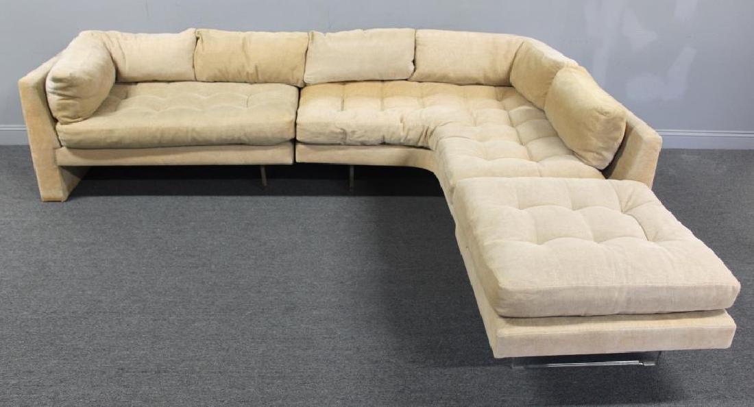 Midcentury Vladimir Kagan Omnibus Sectional Sofa.