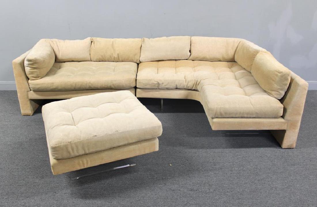 Midcentury Vladimir Kagan Omnibus Sectional Sofa. - 2