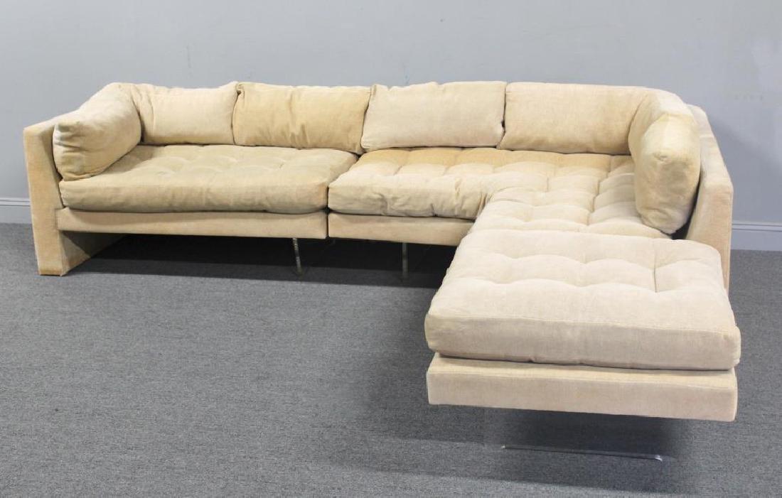 Midcentury Vladimir Kagan Omnibus Sectional Sofa. - 7