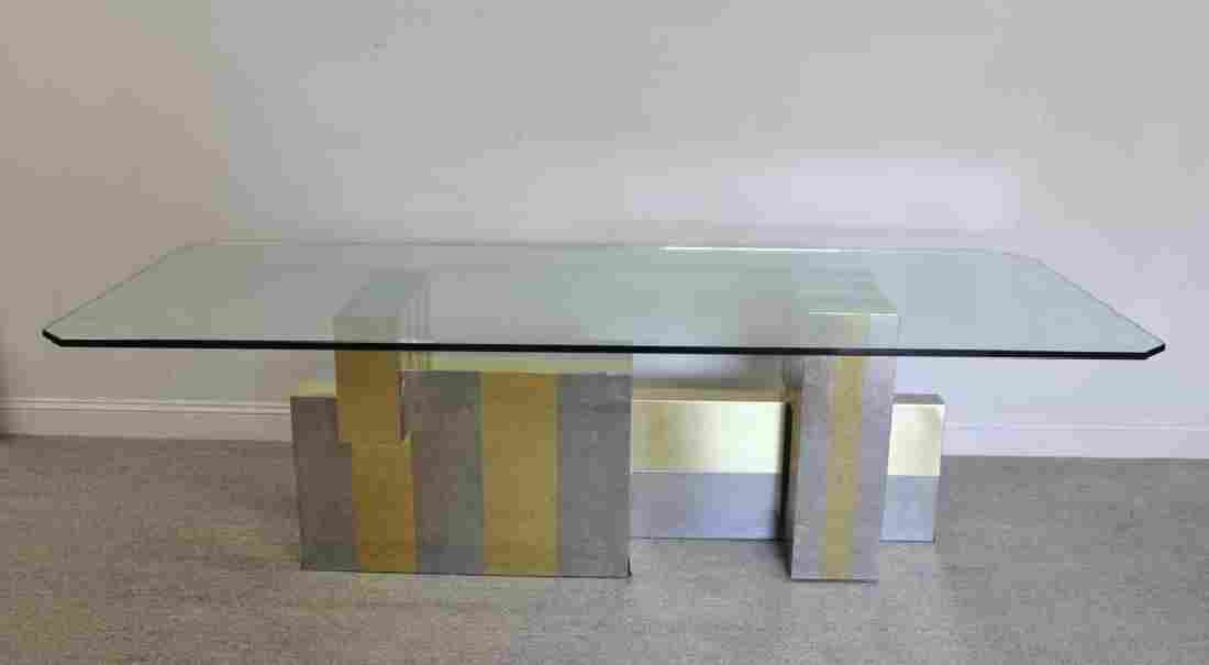 Midcentury Paul Evans Cityscape Dining Table.