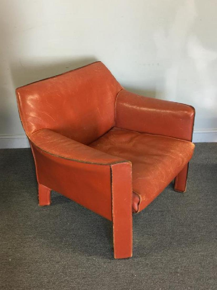 Mario Bellini; Cassina 425 Cab Lounge Chairs. - 3