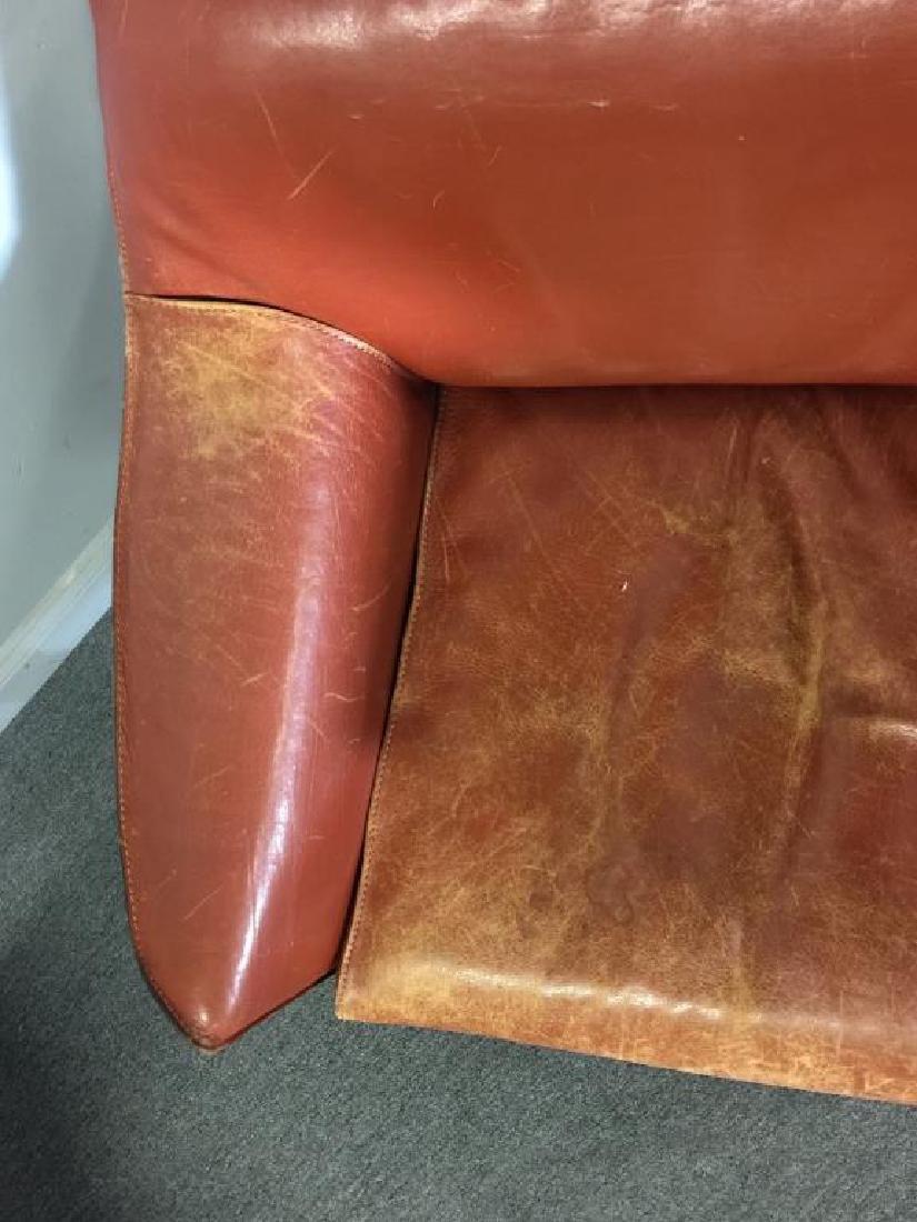 Mario Bellini; Cassina 425 Cab Lounge Chairs. - 4