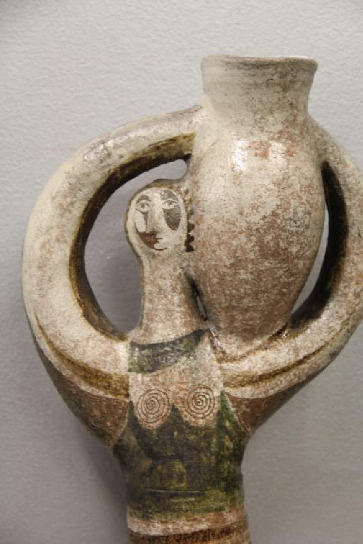 Jean Derval Signed Ceramic Sculpture - 2