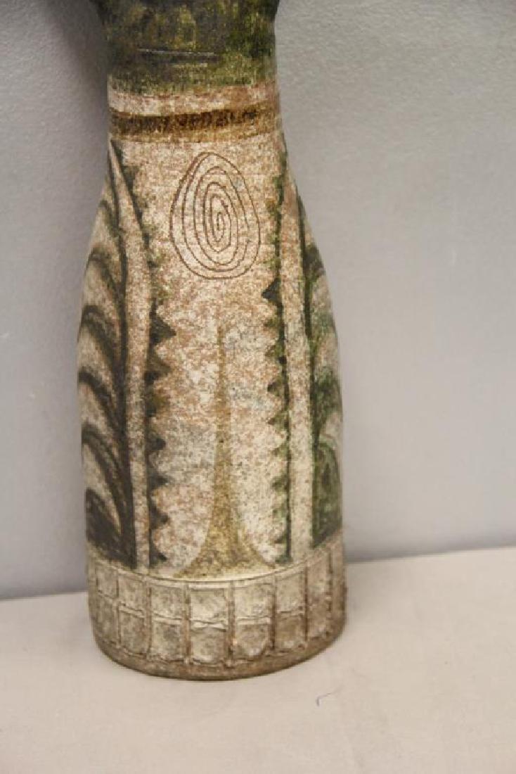 Jean Derval Signed Ceramic Sculpture - 3