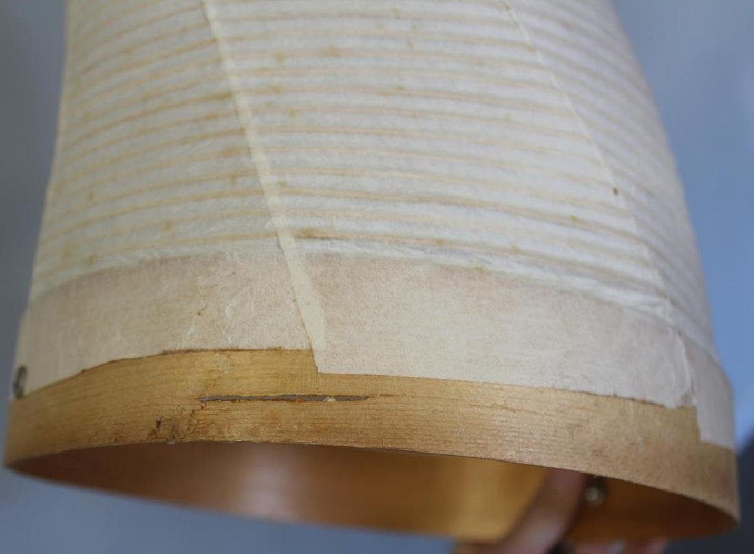 Isamu Noguchi; Akari Horn Floor Lamp. - 10