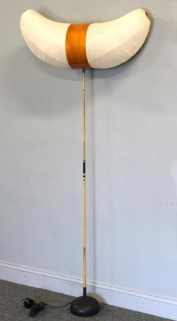 Isamu Noguchi; Akari Horn Floor Lamp.