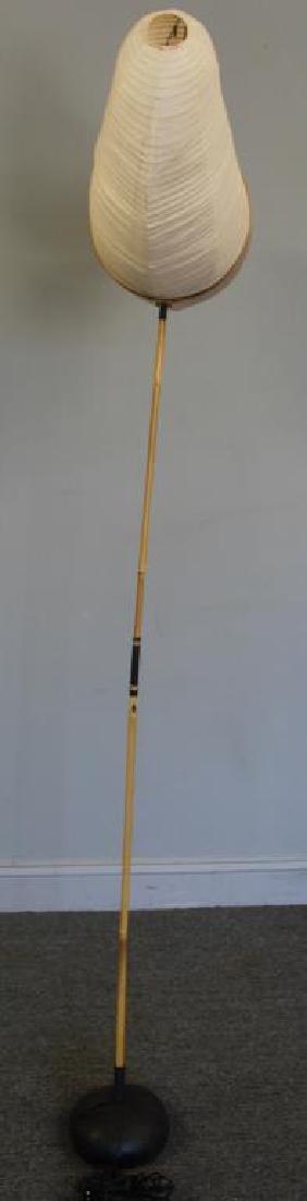 Isamu Noguchi; Akari Horn Floor Lamp. - 9