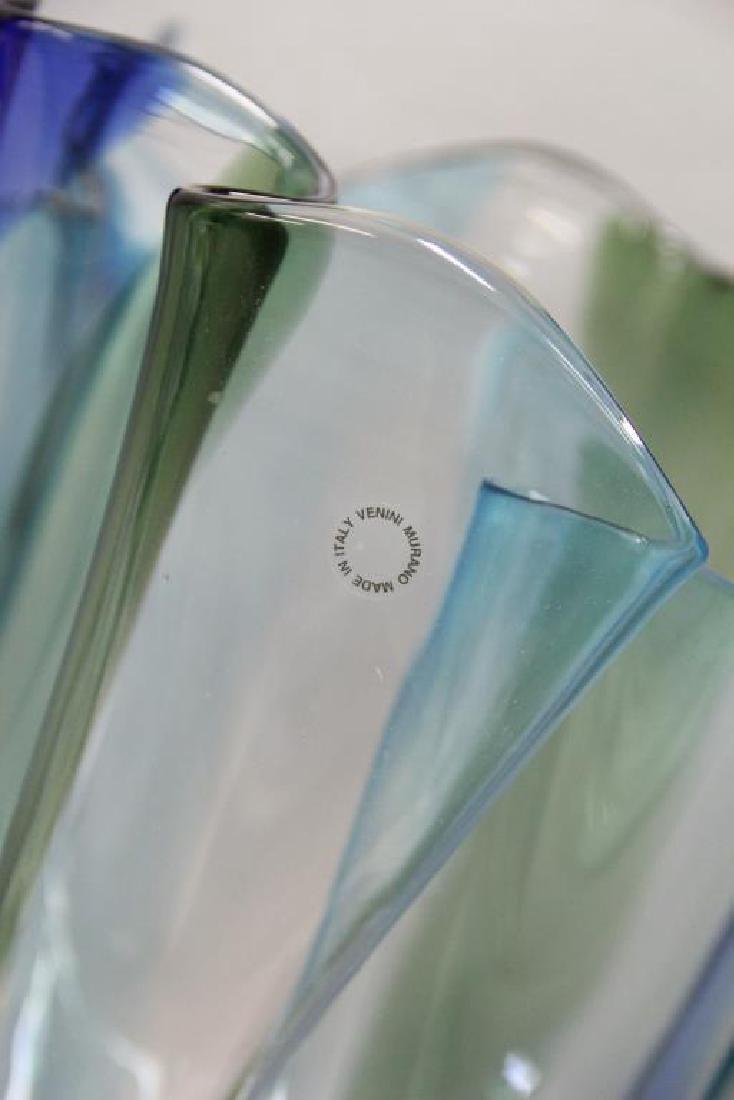 Timo Sorpaneva Large Signed  Art Glass Vase. - 3