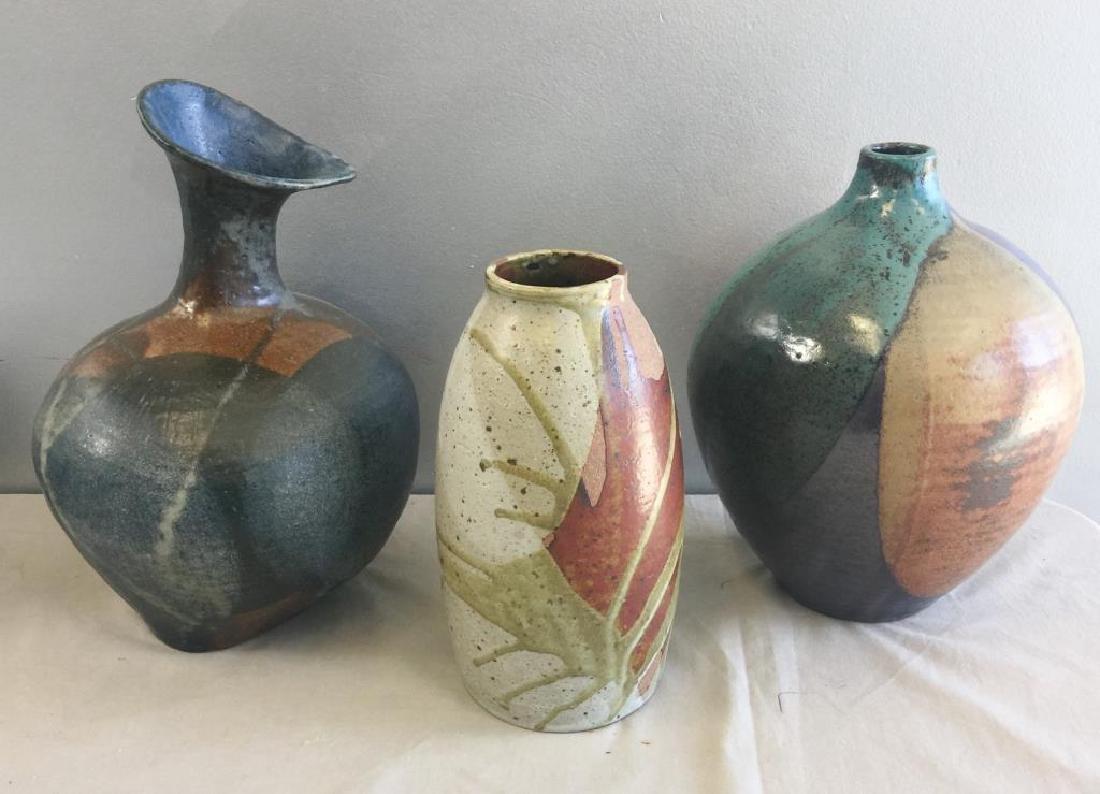 Midcentury Pottery Lot Including Joel Edwards.