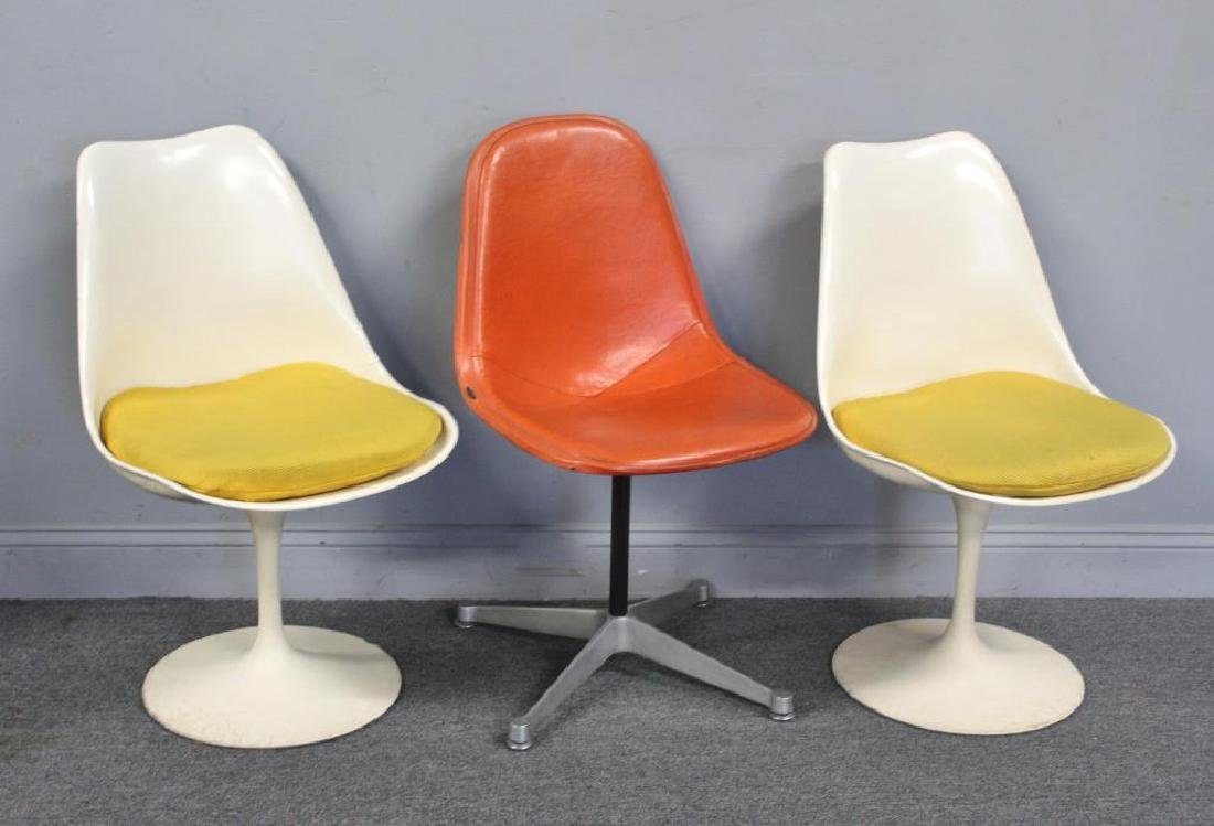 Herman Miller and Knoll Side Chair Lot.