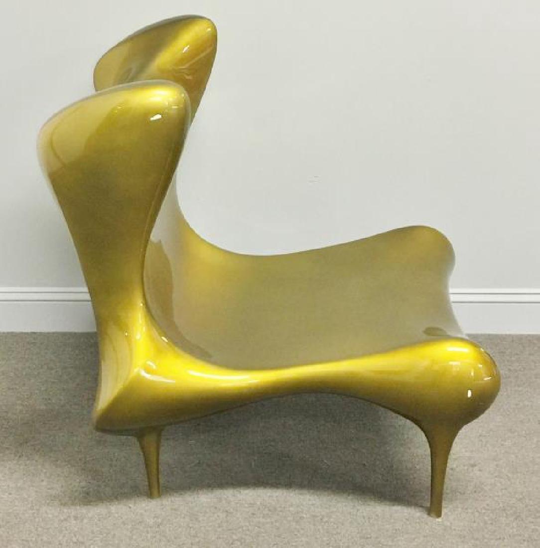 Reproduction Craig Van Den Brulle Reimann Chair.