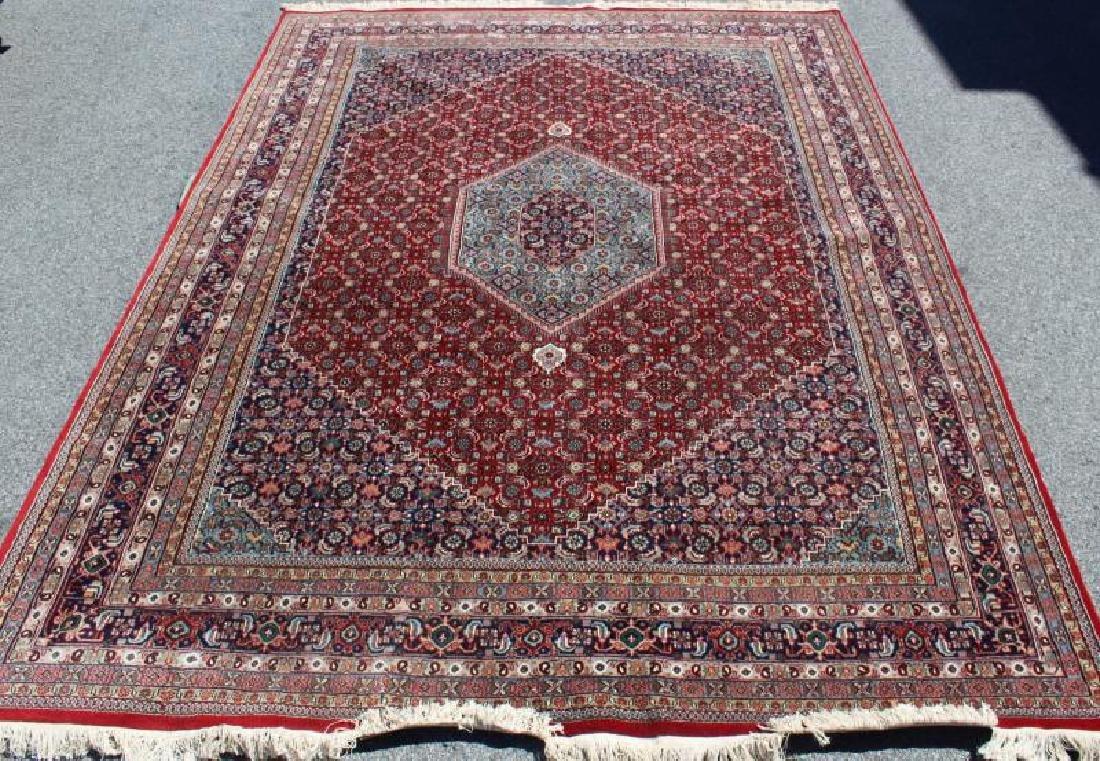 Fine Quality Vintage Handmade Roomsize Carpet.