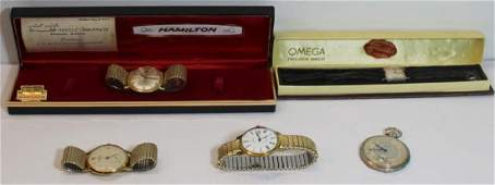 JEWELRY Vintages Mens and Ladies Watch Grouping