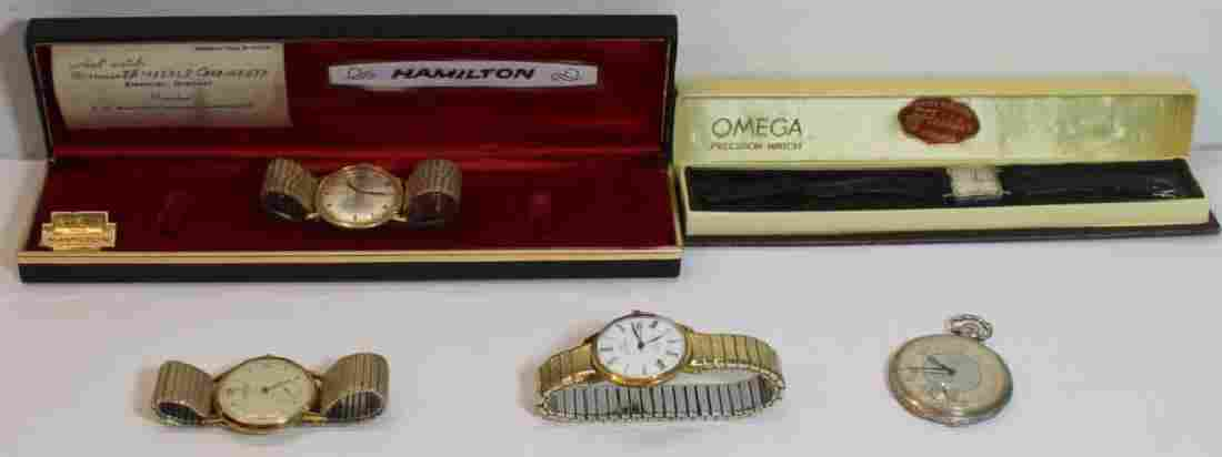 JEWELRY. Vintages Men's and Ladies' Watch Grouping