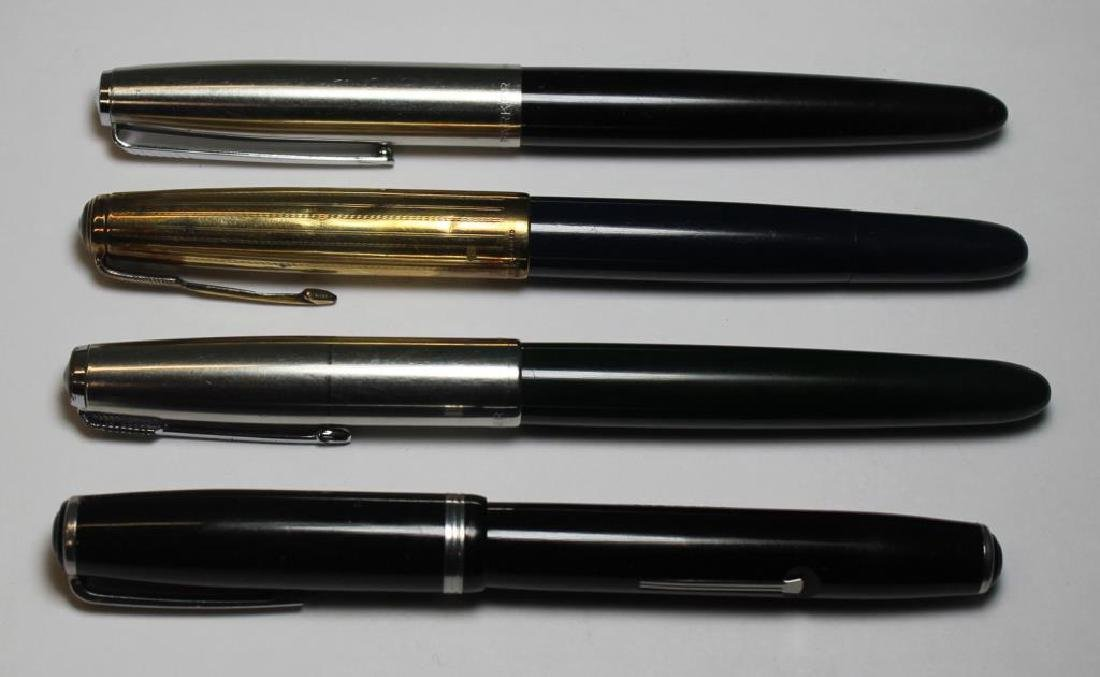 Grouping of Vintage Pens Including Parker. - 4