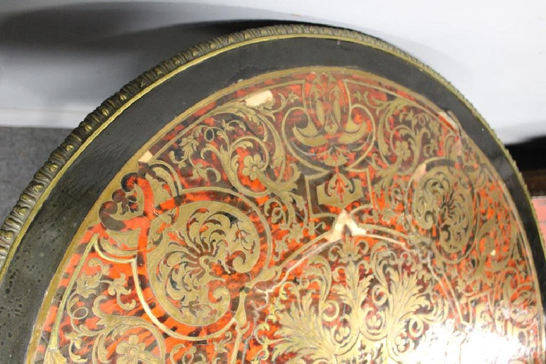 19 Century Ebonised Boulle Center Table. - 10
