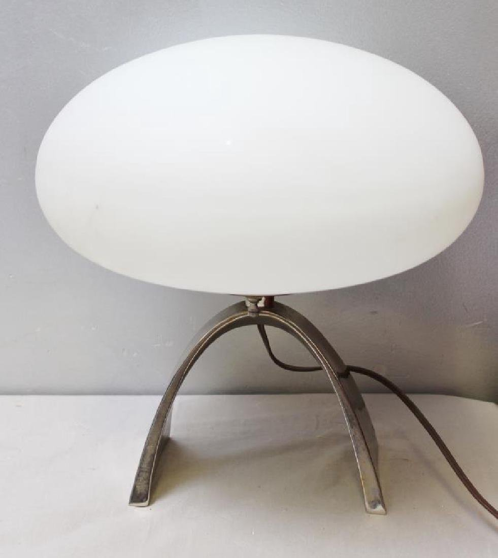 Midcentury Laurel Mushroom Lamp.