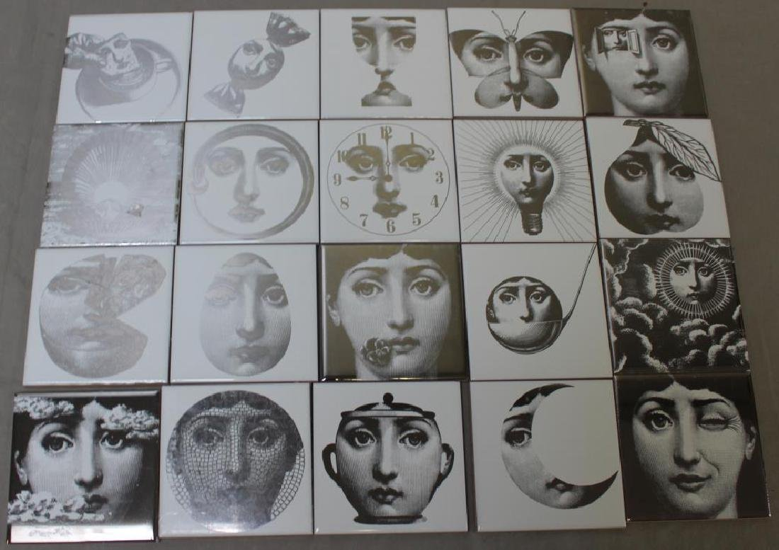 Lot of Pierro Fornasetti Decorative Tiles.