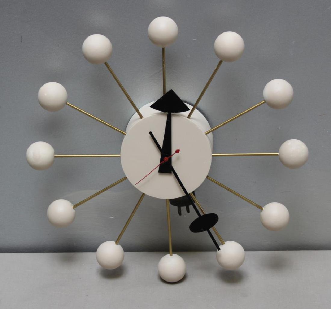 Midcentury George Nelson; Howard Miller Ball Clock