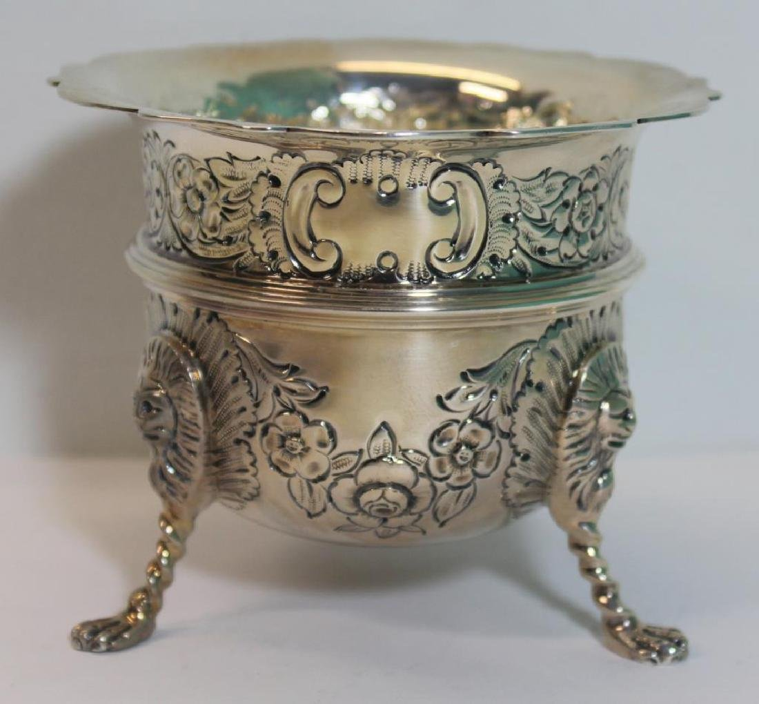 STERLING. Antique English 6 Piece Tea Service. - 6