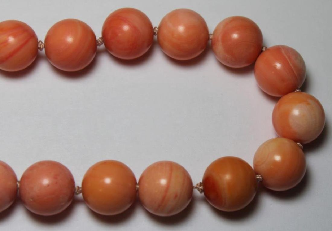 JEWELRY. Assorted Coral Jewelry Grouping. - 5